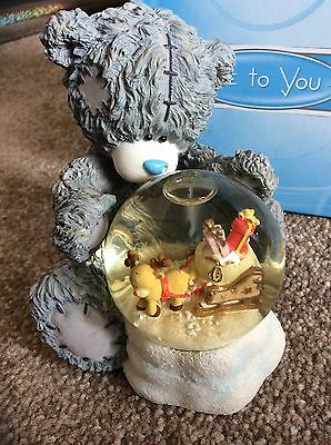 Boxed Me to You figurine Dreaming With Crystal Nose, Snow Globe, Special Edition