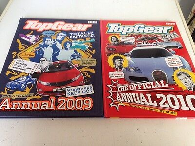 Top Gear Annuals 2009 And 2010