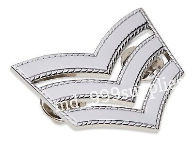 2 x Sergeant Stripes Chevrons Police St Johns Ambulance Security /& Army