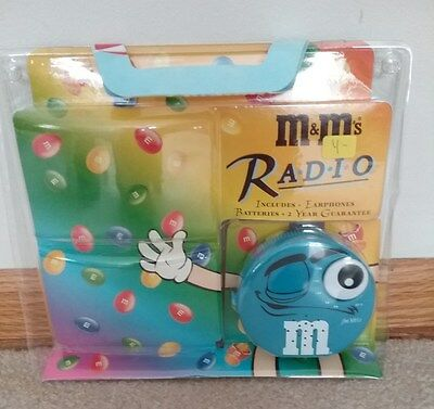 M & M Blue Collectors Radio