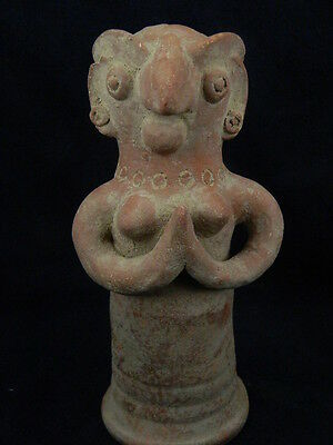 Ancient Huge Size Teracotta Hollow Mother Goddess Indus Valley 3000 BC  #TR5811