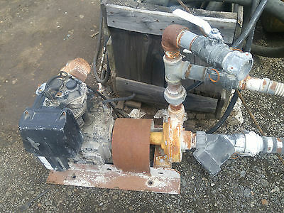 """Lombardini  1 Cylinder Diesel Engine 6Ld260 With 2"""" Water Pump Runs Good"""
