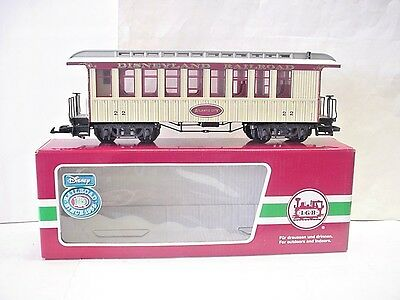 LGB (Lehmann) G Scale Disneyland Railroad Atlantic City #22 Passenger Car #33801