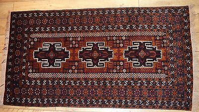Vintage Hand Knotted Nomadic/Tribal Rug Unused