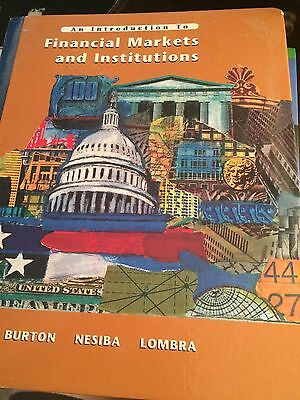 An Introduction To Financial Markets and Institutions 2003 Used Book