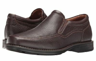 6fe381d41ee7 Rockport Men s Real Capital Slip On Loafers Dress Shoes Brown 8 NEW IN BOX