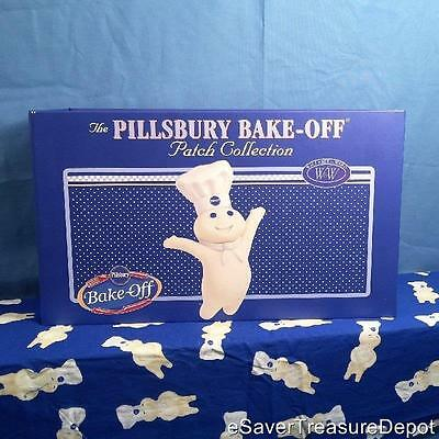 The PILLSBURY BAKE-OFF PATCH COLLECTION (Willabee & Ward) Doughboy & Recipes