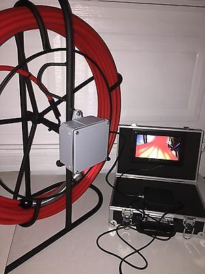 Pipe Inspection Sewer Camera Drain Cleaner 80 feet