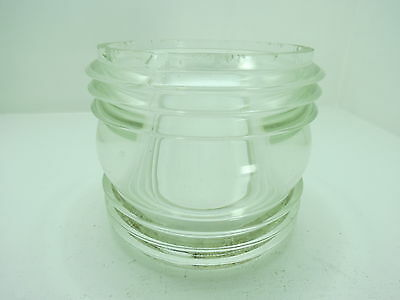 Clear 360 Degree Glass Lens For  Boat Ship Lamp Light Decor (#2315)