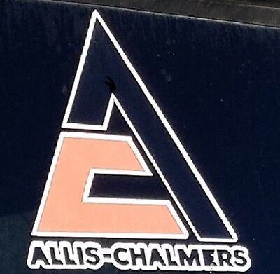 Allis-Chalmers Window Decal