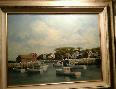 "ROGER LUNDSKOW - hand-signed by Roger - ORIGINAL OIL PAINTING - 18"" X 24"" - RARE"