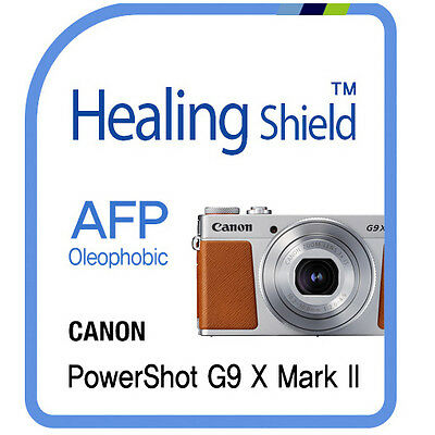 For CANON PowerShot G9 X Mark II Camera  Screen Protector Clear LCD Film  2pcs