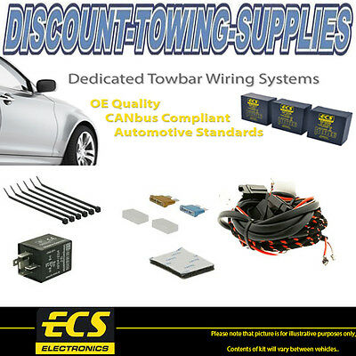 ECS (SP133ZZ) Towbar Dedicated Wiring 3 Cable Self-Switching Extension Kit