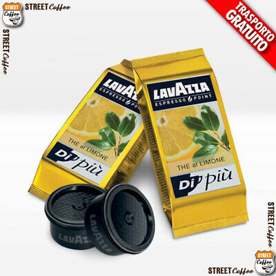 100 Cialde Capsule Lavazza Tè Thè The al Limone Espresso Point originali gratis