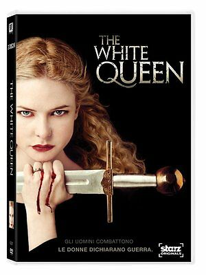 The White Queen - Serie Completa (4 DVD) - ITALIANO ORIGINALE SIGILLATO -