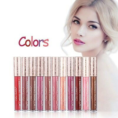 Liquid Matte Lipstick Beauty Lip Gloss Waterproof Long Lasting Makeup Cosmetics