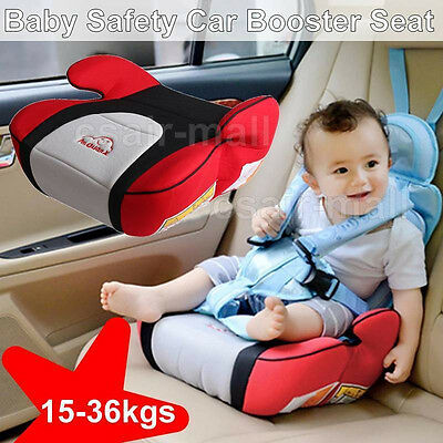 Car Booster Seat Safe Sturdy Baby Child Kid Children Fit 3 To 12 Years Cushion