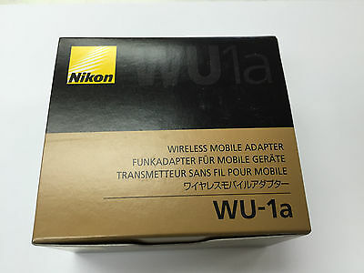 Genuine Nikon WU-1a Wireless Mobile Adapter Wi-Fi Connector Made in Japan