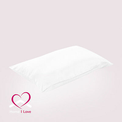 100% Silk 19mm 1 Pillowcase White Rejuvenate Skin&Hair AntiAgeing Healthy Sleep
