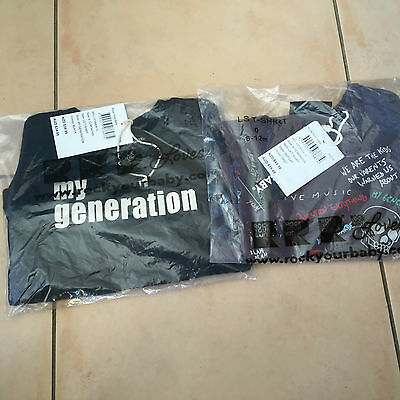 Rock Your Baby 2 Ls Tops  My Generation  And Hepcat Sz 1