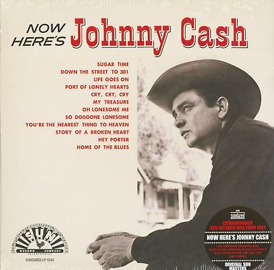 Johnny Cash - Now Here's Johnny Cash - Vinyl Country