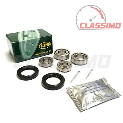 Front Wheel Bearing Kit Pair for FORD ZEPHYR & ZODIAC MK 4 - 1966 to 1972
