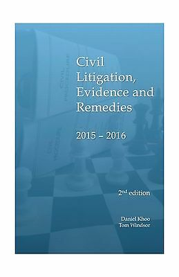 Civil Litigation Evidence and Remedies 2015 - 2016