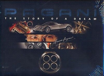 Pagani, the story of a dream - Zonda - great large format book