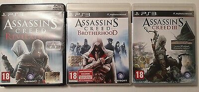 lotto giochi ps3 assassin's creed saga