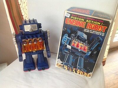 Engine Robot HORIKAWA, Piston Action made in Japan TOP Condition