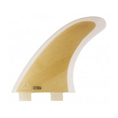 Bamboo Core Thruster Surfboard Fins (Set of 3) Large FCS