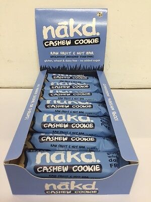 Nakd Bars Cashew Cookie 18 x 35gm