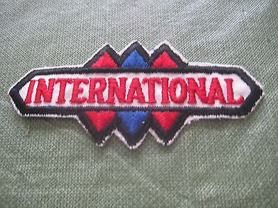 "Vintage International Harvester Advertising Patch Farm Equipment 4 3/8"" New"
