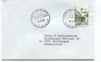 1980 Jan Mayen Norge Polar Antarctic Cover