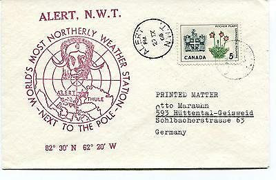 1966 World's Most Northerly Weather Station Alert Canada Polar Antarctic Cover