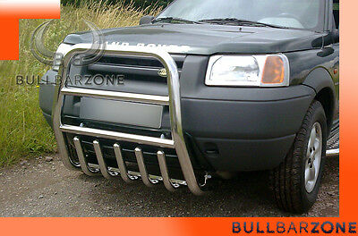 !!!+!land Rover Freelander Tubo Protezione Alto Bull Bar Inox Stainless Steel