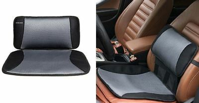 Car Cooling Pillow & Seat Cushion Lumbar Back Support Office Chair Home Comfort