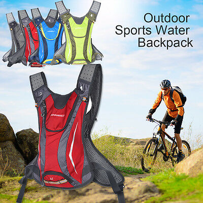 5L Bike Hydration Pack Backpack Rucksack + 2L Drinking Water Bag Bicycle Cycling