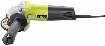 Angle Grinder Power Tool 5.5-Amp Corded 11,000 RPM, Left or Right Handed, Ryobi