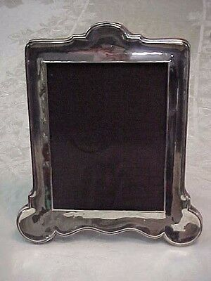 Vintage Sterling Silver Picture Frame With Hallmarks