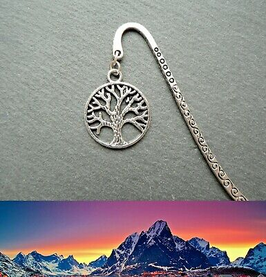 Lord of the Rings Bookmark White Tree of Gondor Middle-earth Ringer Silver Gift