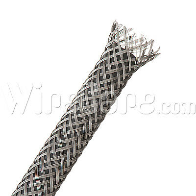 "SSN0.50SV - Flexo - Braided Stainless Steel - 1/2"" - 10 Ft Cuts"
