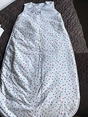 BNWT The Little White Company Sleeping Bag 6-18 Months