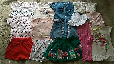 Baby Girl Summer Clothes ,18-24 months ,Bundle,