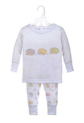 Roly Poly HEDGEHOG Two Piece Pajama Set - Size: 9-12 Months by Baby Ganz