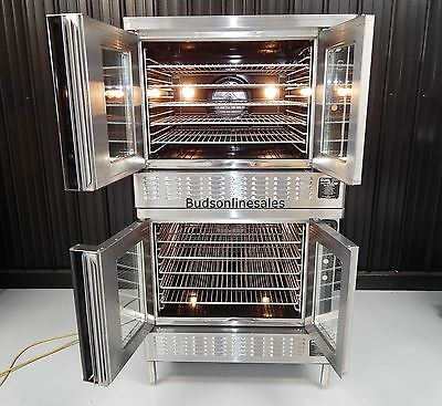 Blodgett Dual Flow Gas Commercial Double Convection Oven Bakery Pizza
