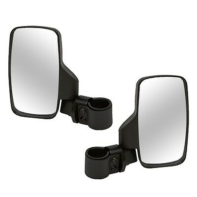 2 Kolpin Breakaway Side View Mirrors 2008-2016 Polaris RZR 800 900 1000 XP S & 4