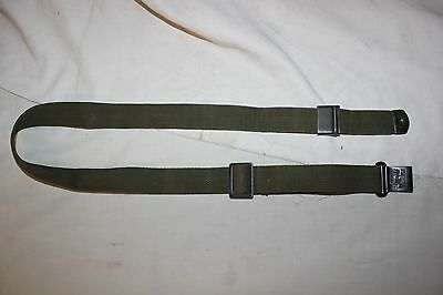 US Military Issue M1 Garand Rifle Sling Green Canvas Web Sling MRT Vintage NOA8