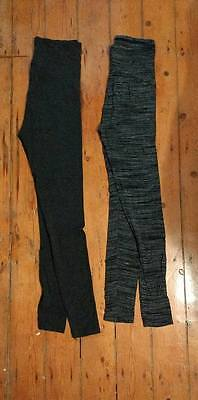 Maternity leggings H&M size small and Mamas & Papas size 6