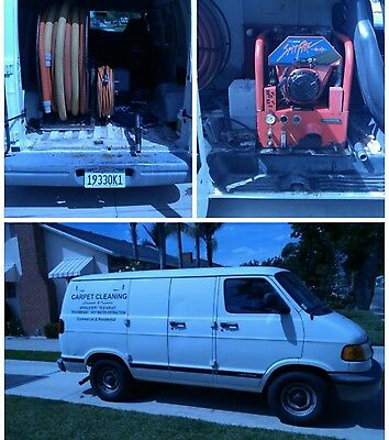 Carpet Cleaning Truck Mount